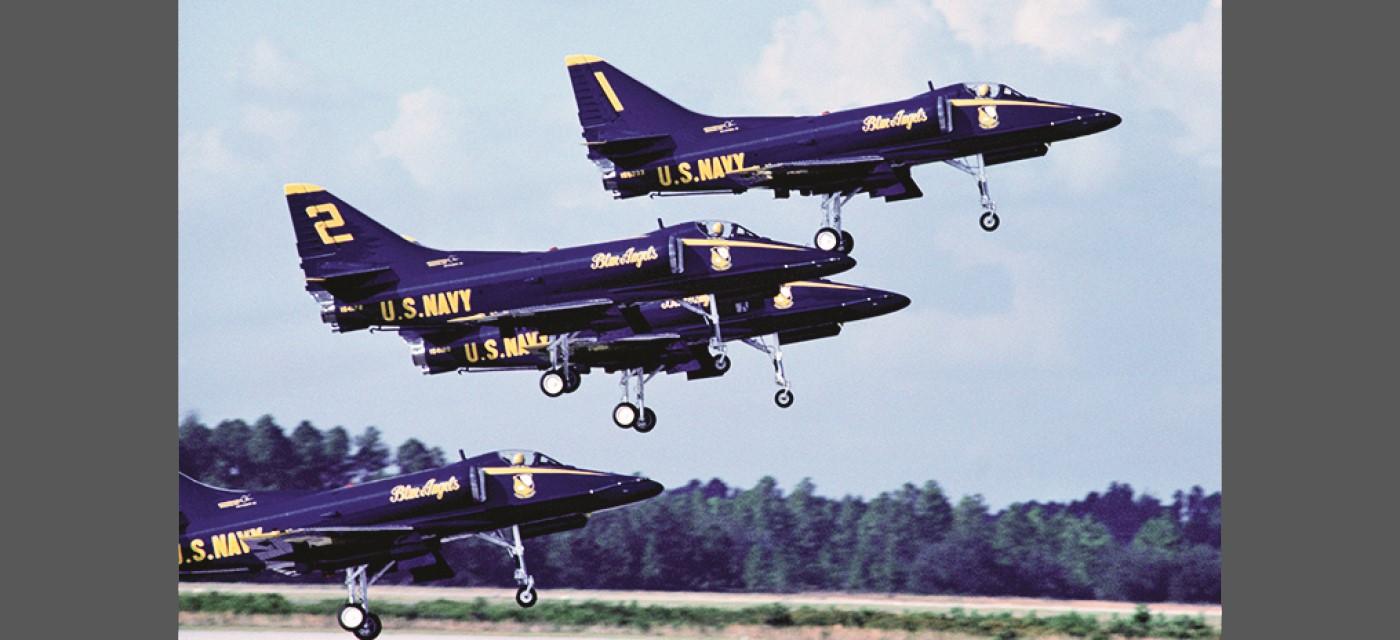 1974-1986: Soaring Skyhawks
