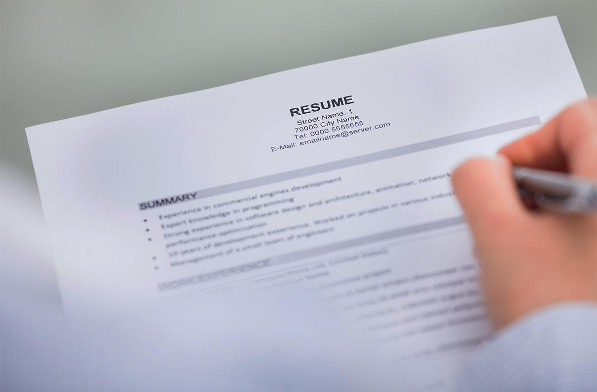 MOAA - Military career tips for writing an officer resume