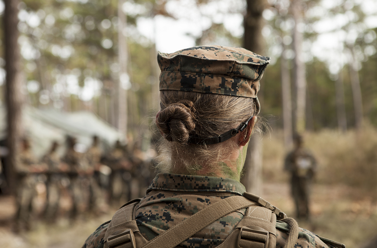 How officers can help the military stamp out sexism