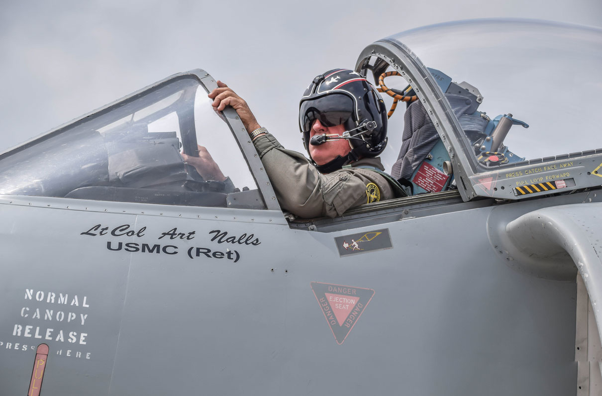 This Marine Officer Buys and Flies Harrier Jets In His Retirement