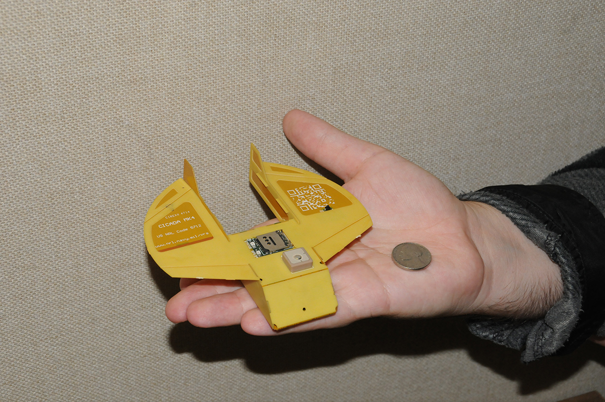 Mil Tech Micro Drone Can Be Dropped In Swarms From Airplanes