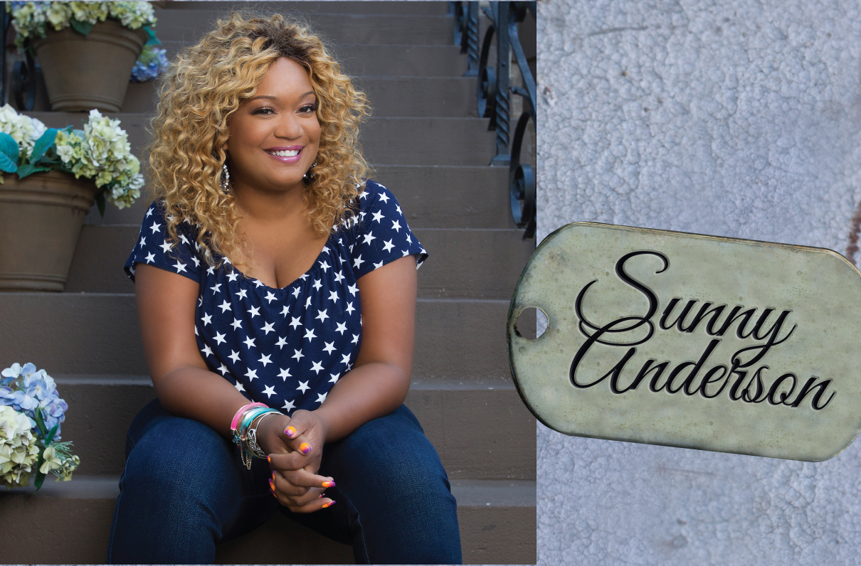 Sunny Anderson Moaa  Military Life Gave Food Network's Sunny Anderson A Taste