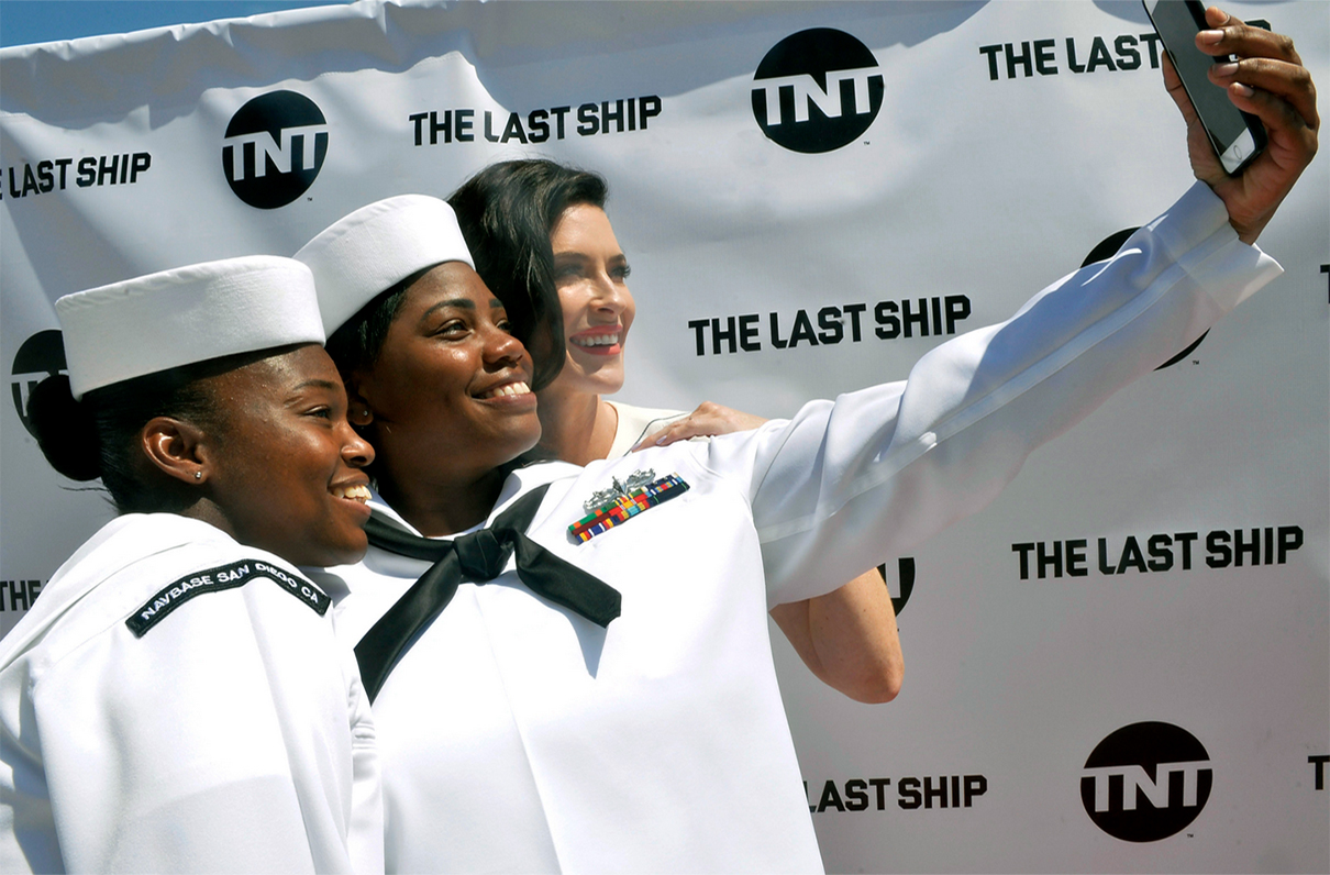 U.S. Navy Assists With Show The Last Ship