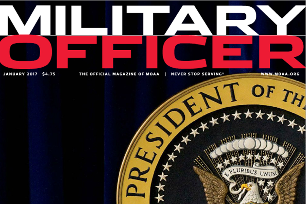 January Military Officer Magazine