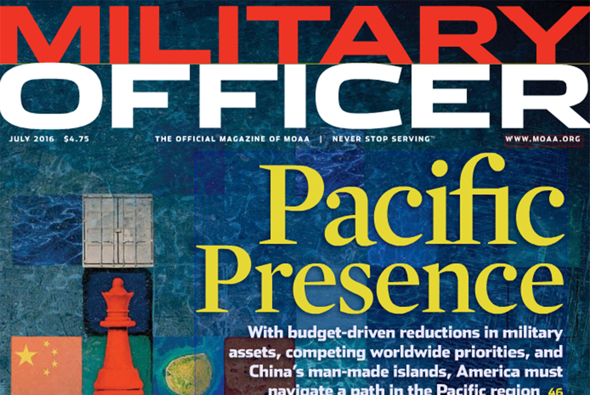 July 2016 Military Officer Magazine