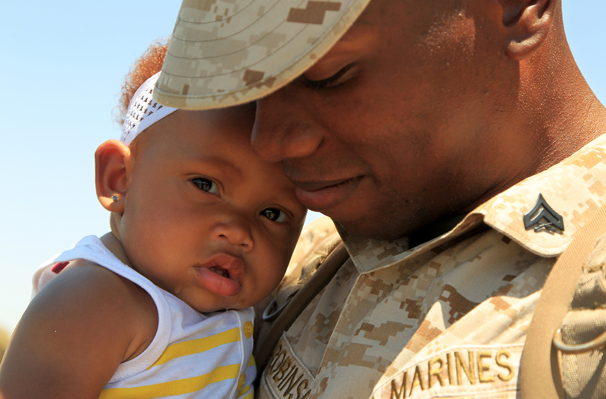 Troops' Time Away from Home Now Top Concern of Military Families