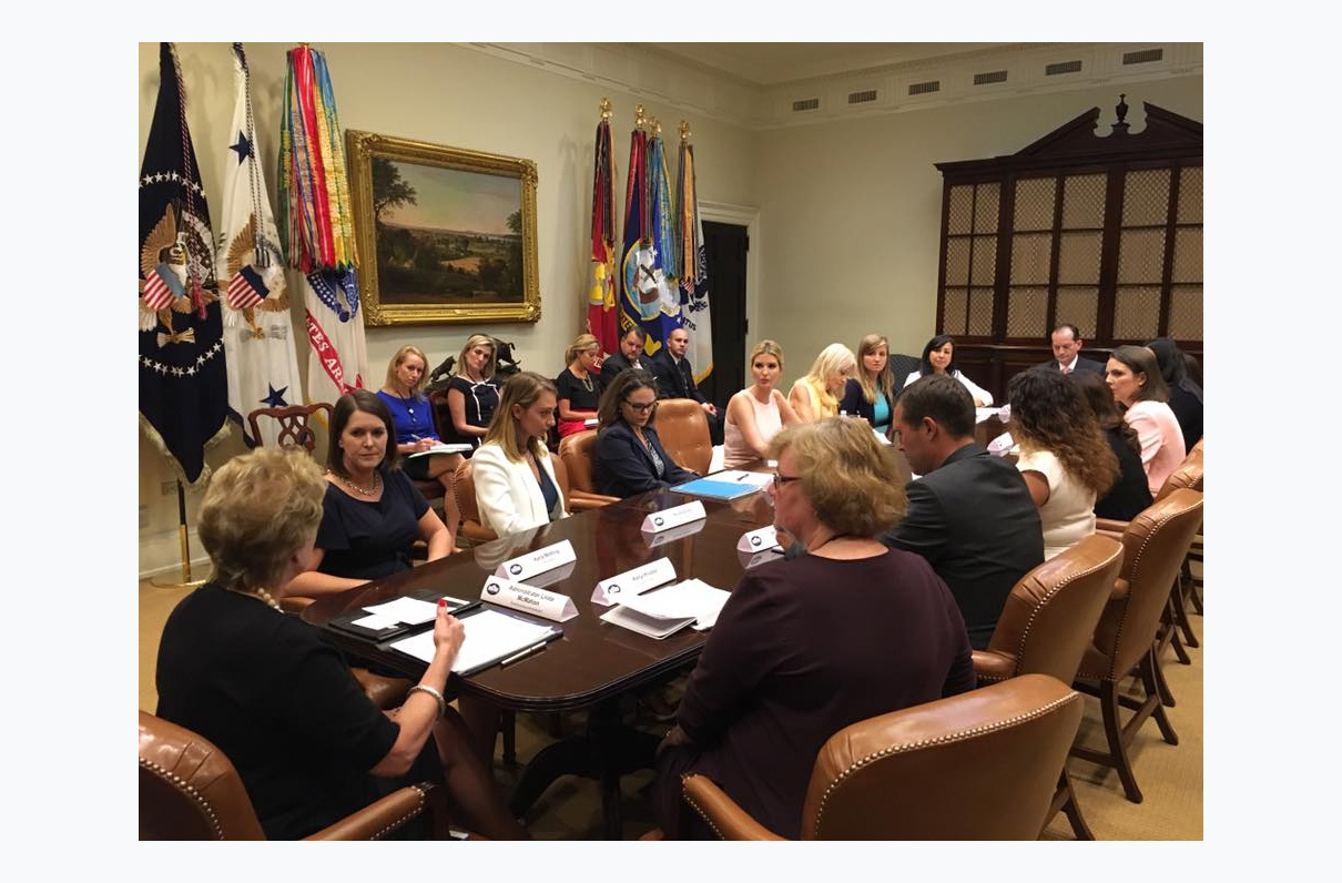 Military spouses share employment challenges during White House visit