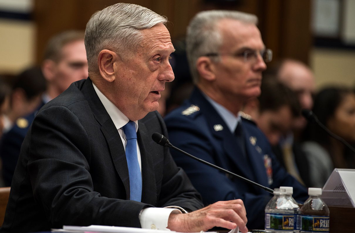 Mattis on Two-Year Budget Deal: 'We Will Spend the Money Wisely'