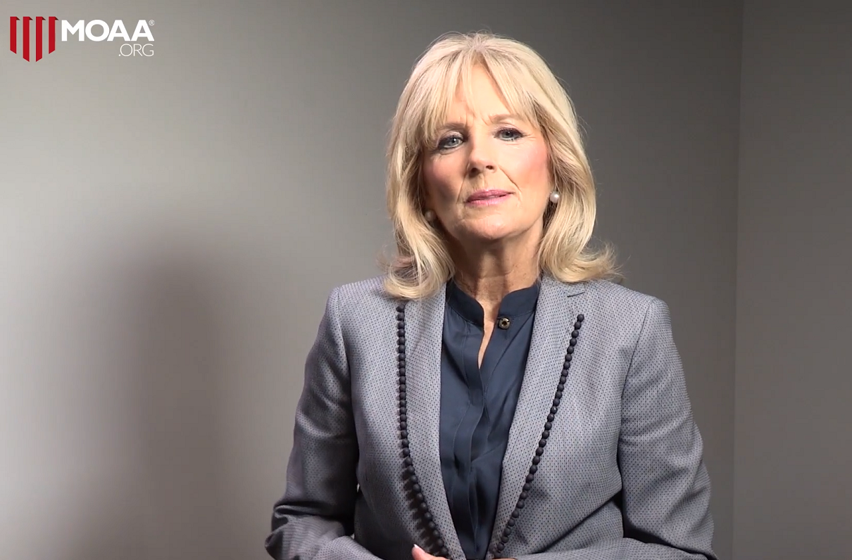 Here's How Dr. Jill Biden Continues Her Support for Military Spouses