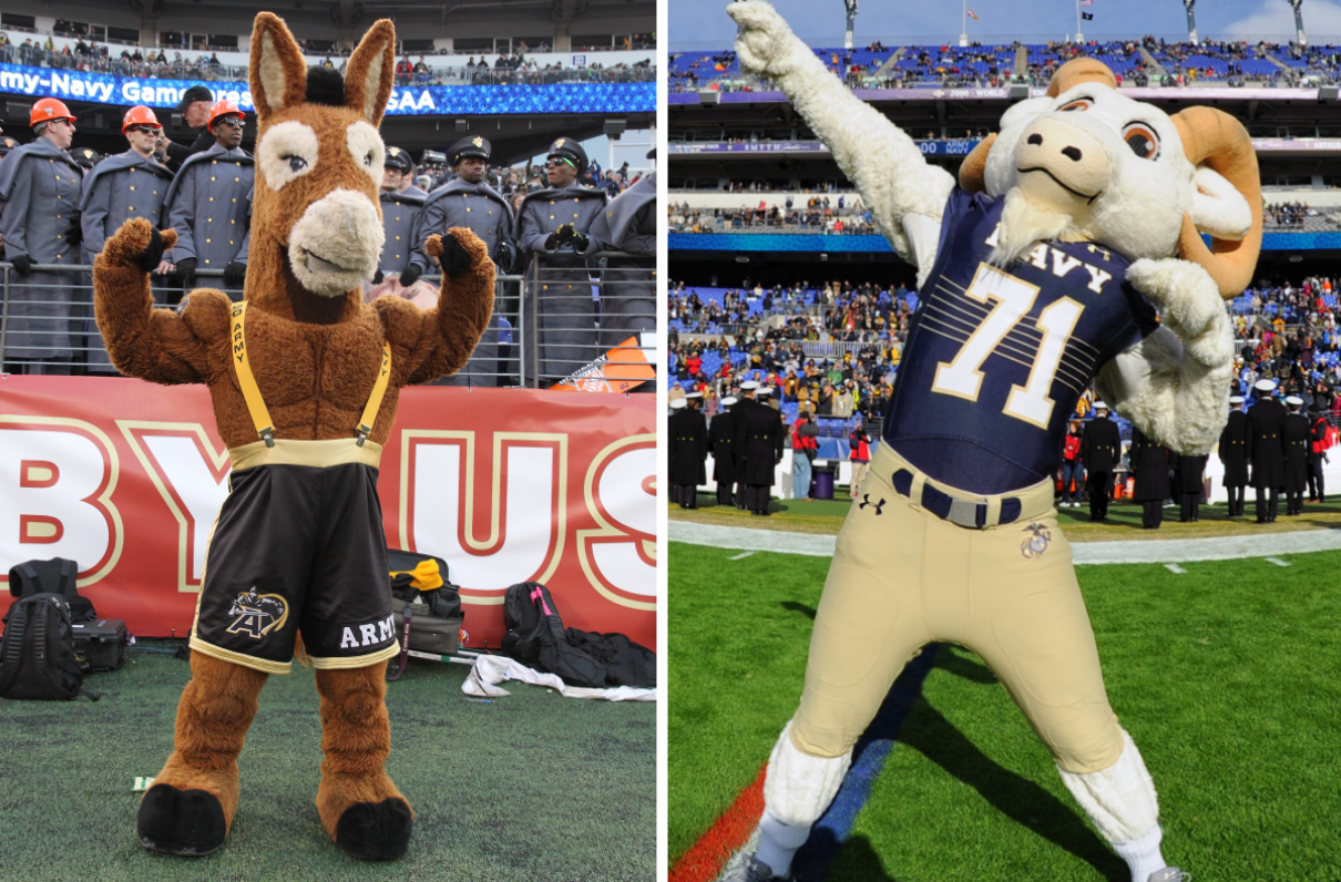 Moaa Team Mule Or Team Goat Know Your Army Navy Mascots