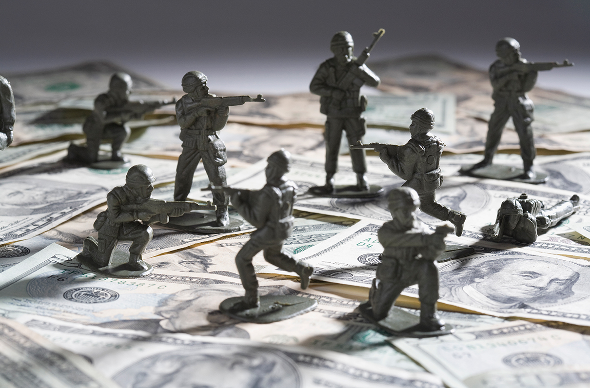 Military's New Problem: Too Much Money, Not Enough Time to Spend It
