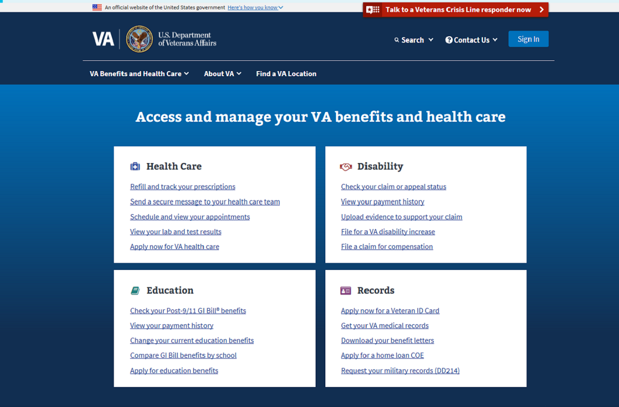 7 Things To Know About VA's New Website
