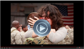 A Moving Tribute to Military Families