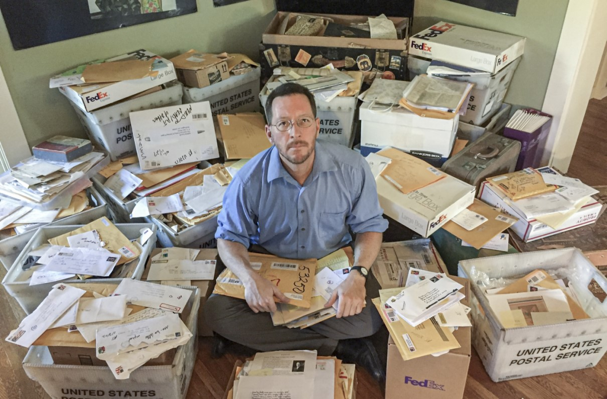 150,000 Letters and Counting: One Man's Quest to Collect War Stories