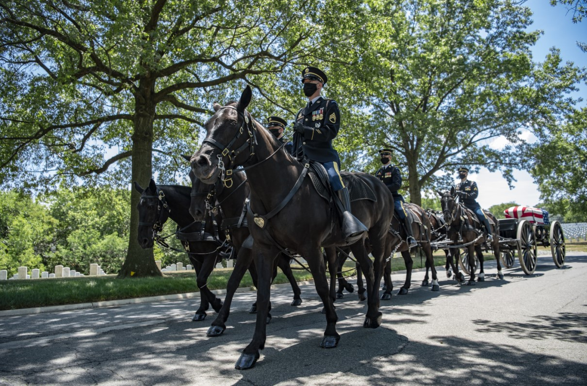 Arlington to Allow Larger Funeral Gatherings, Modified Escorts