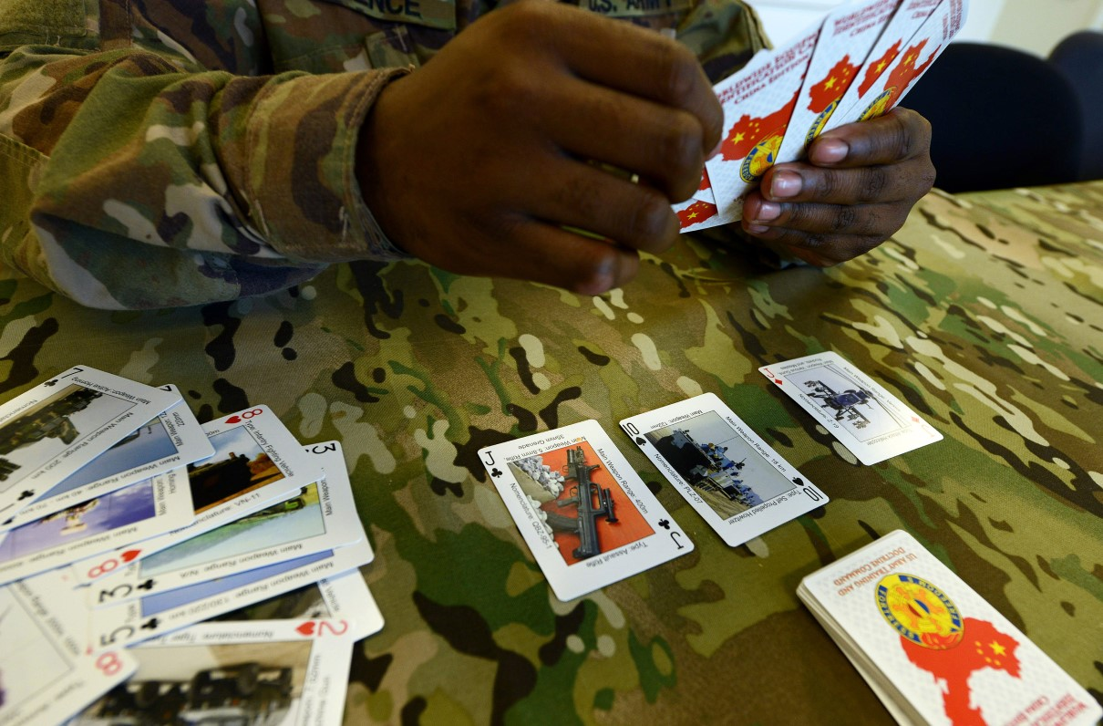 The Army Is Using Playing Cards to Train Soldiers on Enemy Weapons