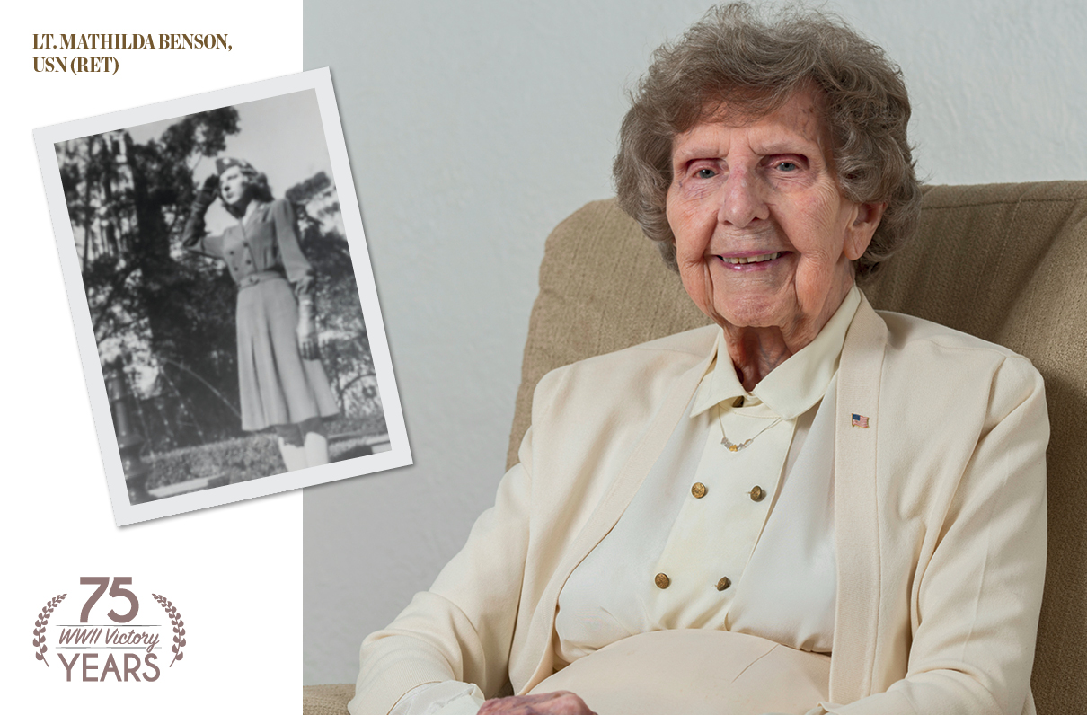 Healing on the Home Front: Lt. Mathilda Benson, USN (Ret), on her World War II Service