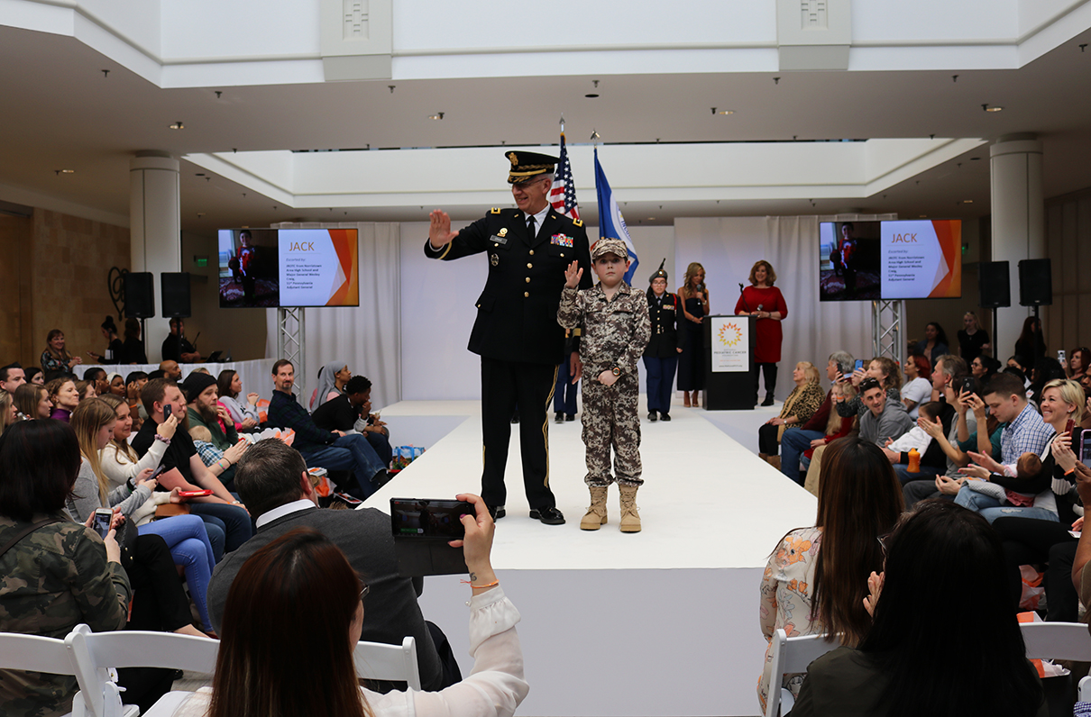 Chapter Member Takes to the Runway in Pediatric Cancer 'Dream Walk'