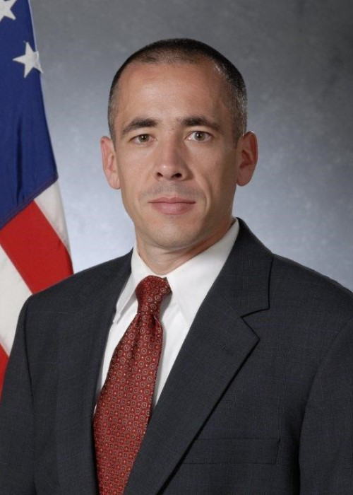 Lt. j.g. Charles P. Rego, USN