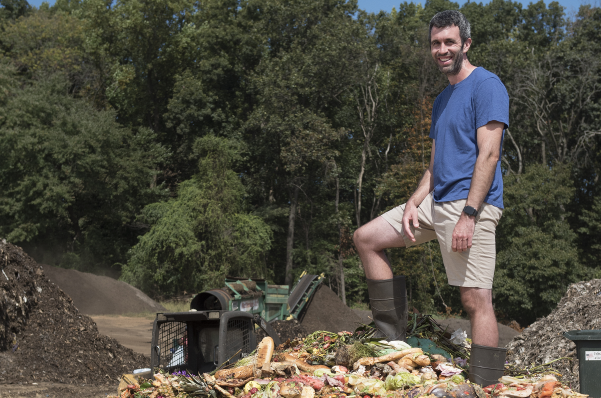Army Veteran Finds Career and Purpose by Composting