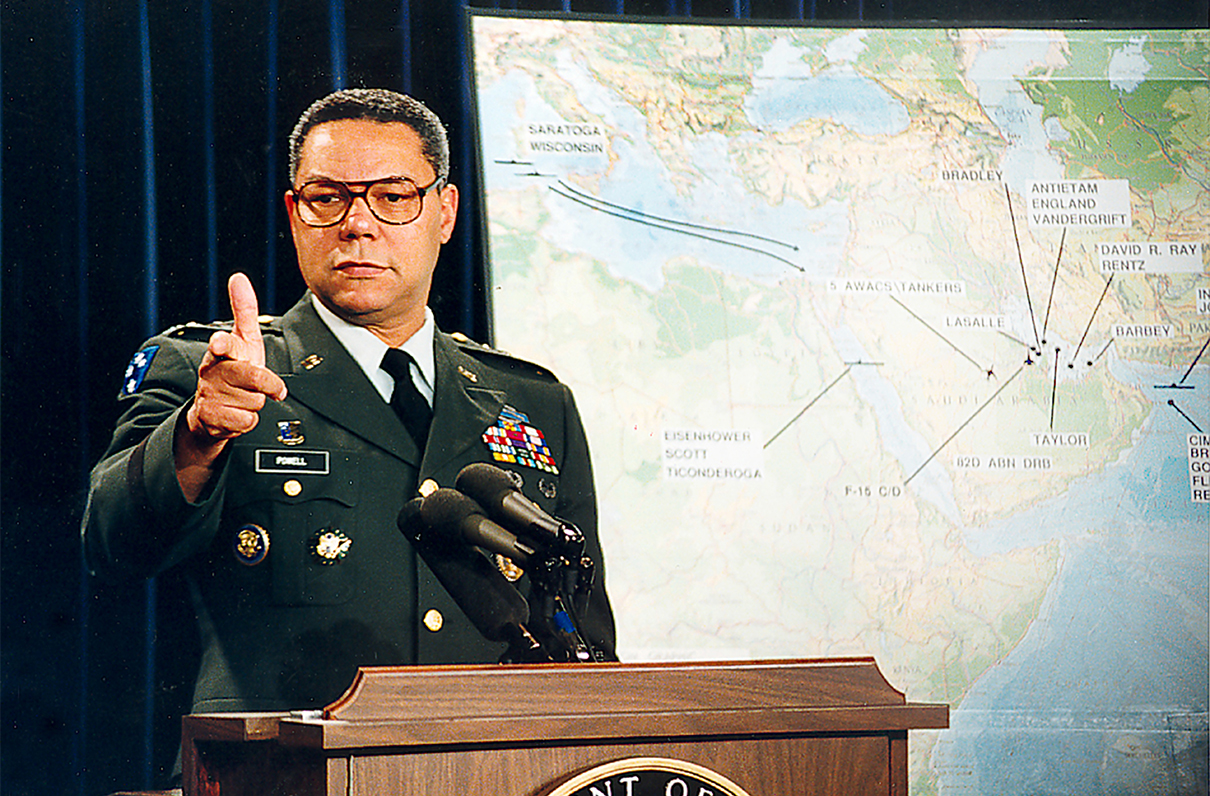 Colin Powell Remembers Desert Storm 25 years later