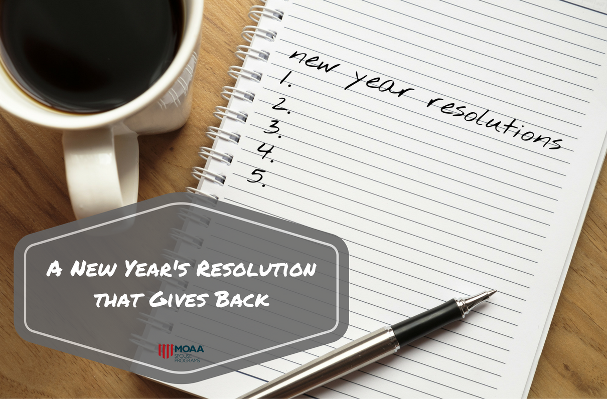 A New Year's Resolution that Gives Back