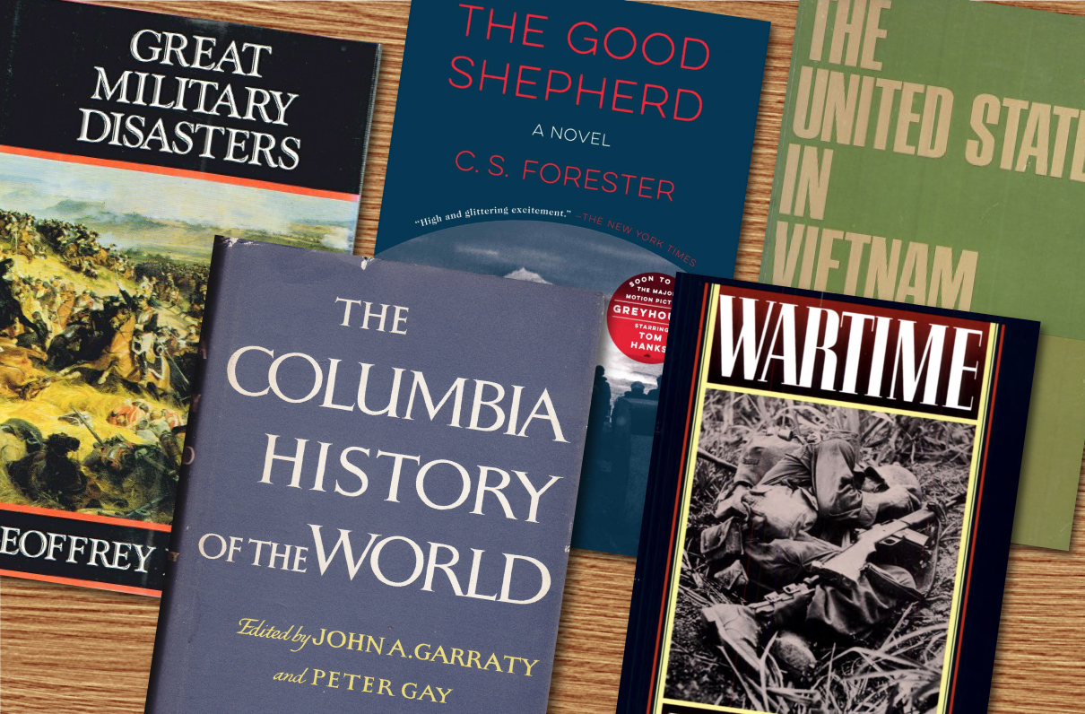 5 Vintage Military Books to Check Out This Spring