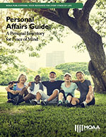 Personal Affairs Guide: A Personal Inventory for Peace of Mind Cover Image
