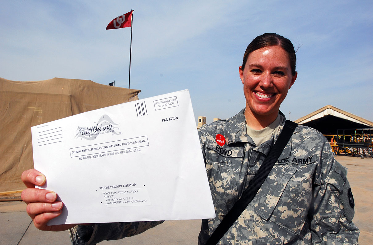 MOAA Survey: High Marks from Military Absentee Voters, but Spouses Face Challenges, and Most Want Online Voting
