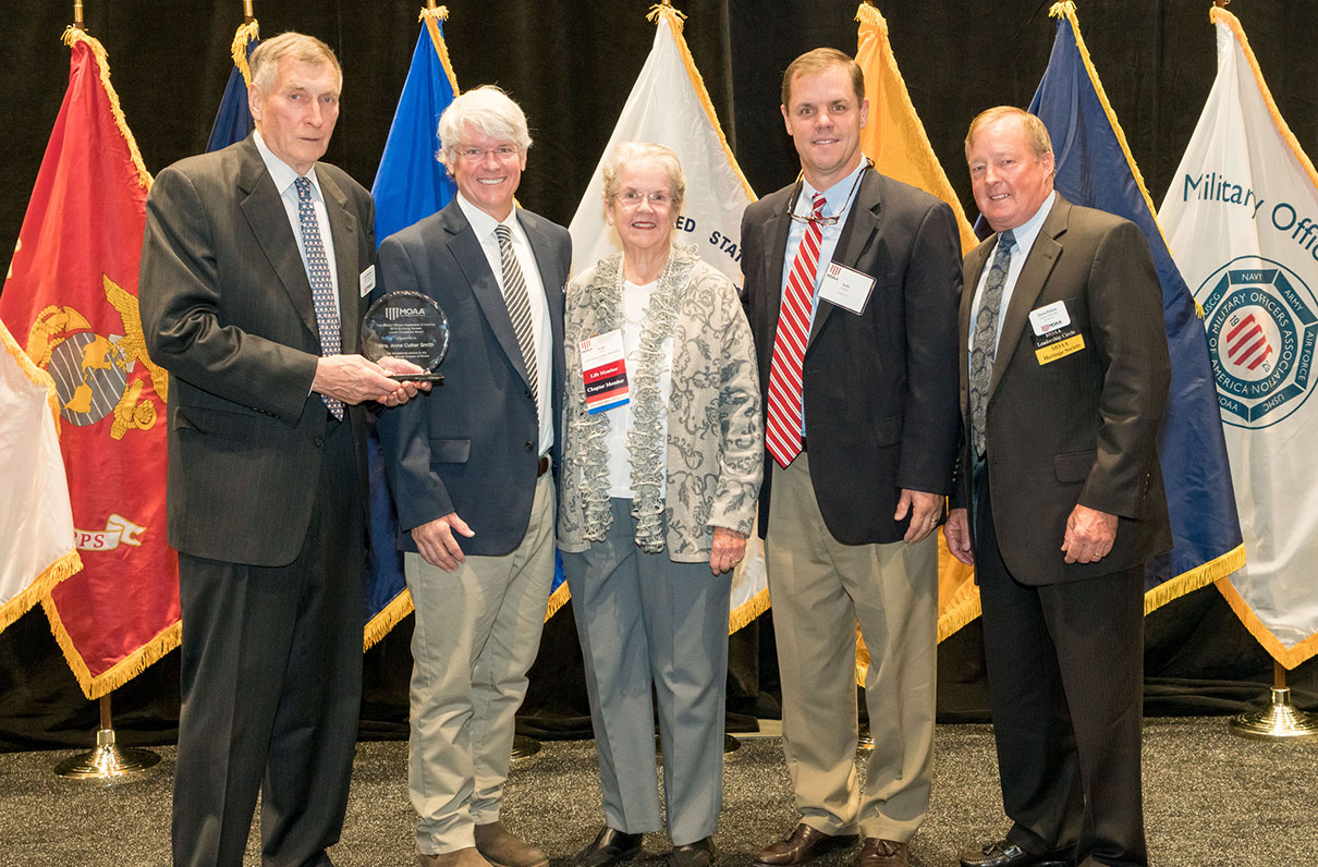 Meet the Recipient of MOAA's Surviving Spouse Liaison Excellence Award