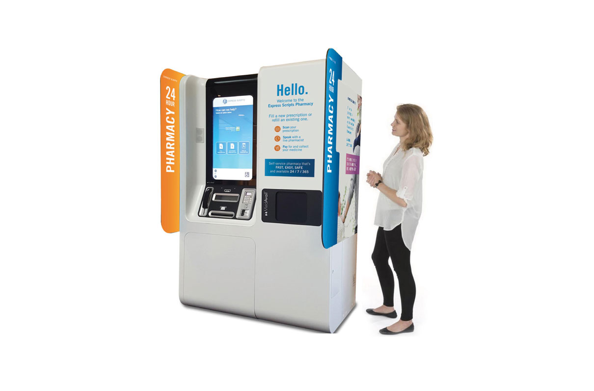 TRICARE is exploring ATM-like pill dispensing machines