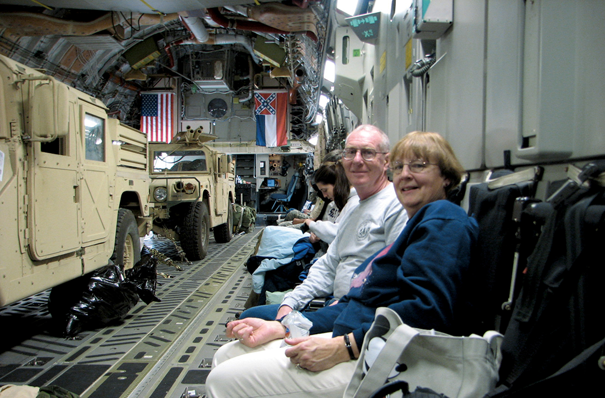 This Military Spouse Makes Space-A Travel Easy