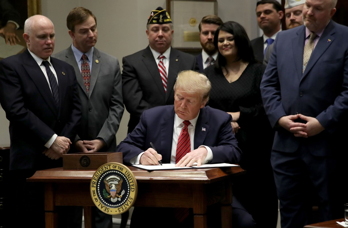 President Signs Executive Order to Prevent Veteran Suicides