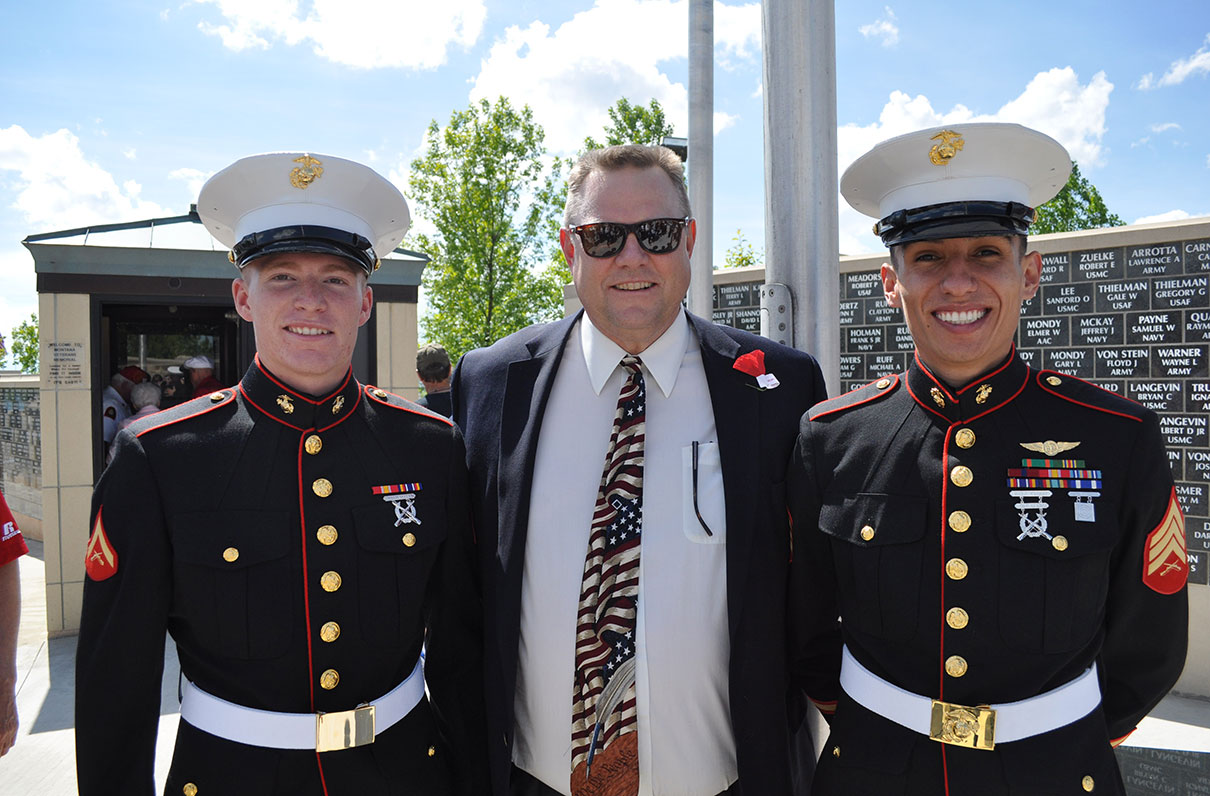 MOAA Honors Sen. Jon Tester for Work to Protect Military Health Care, Benefits