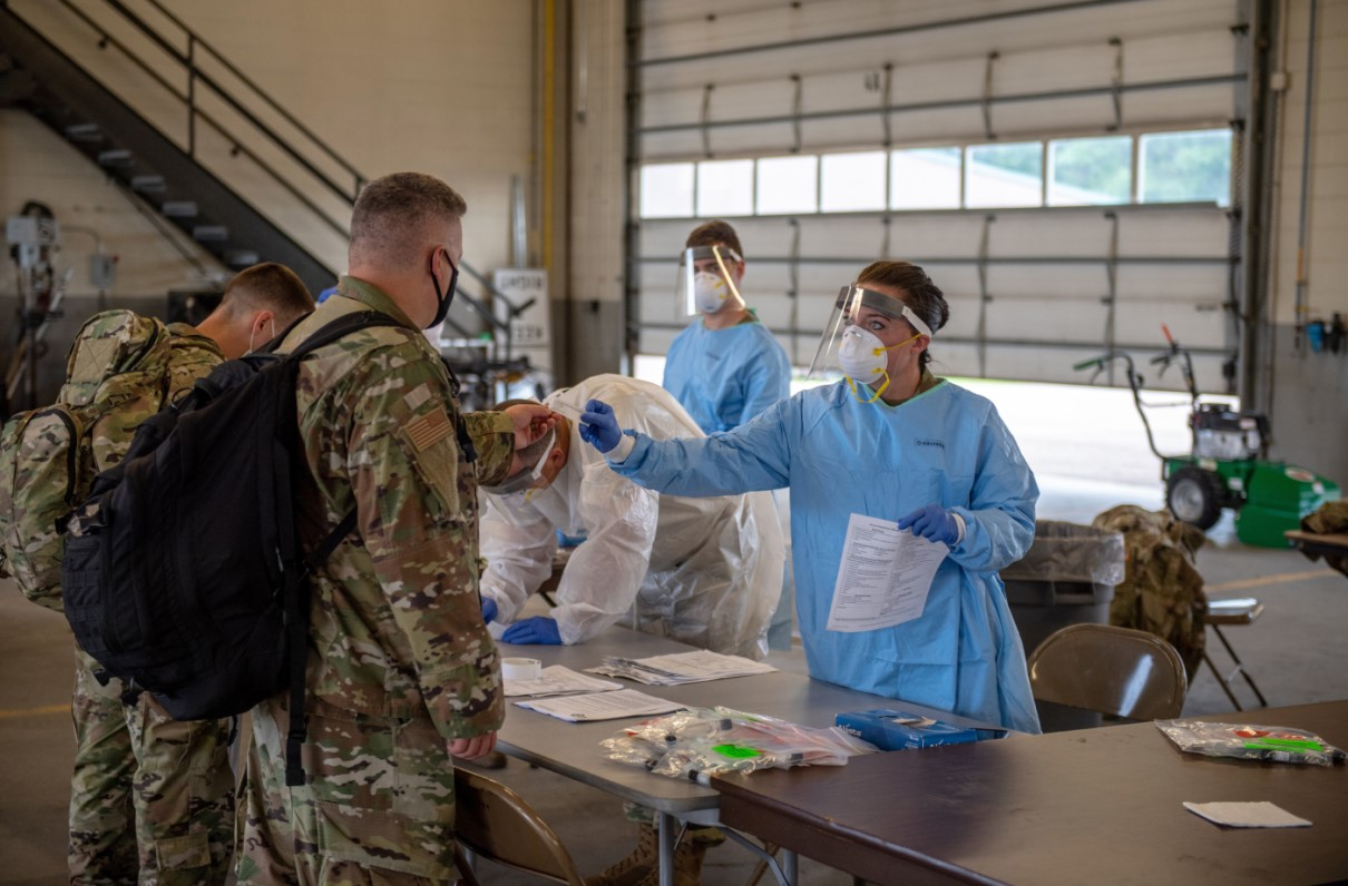 How the Military Is Supporting the Historic Race for a COVID Vaccine