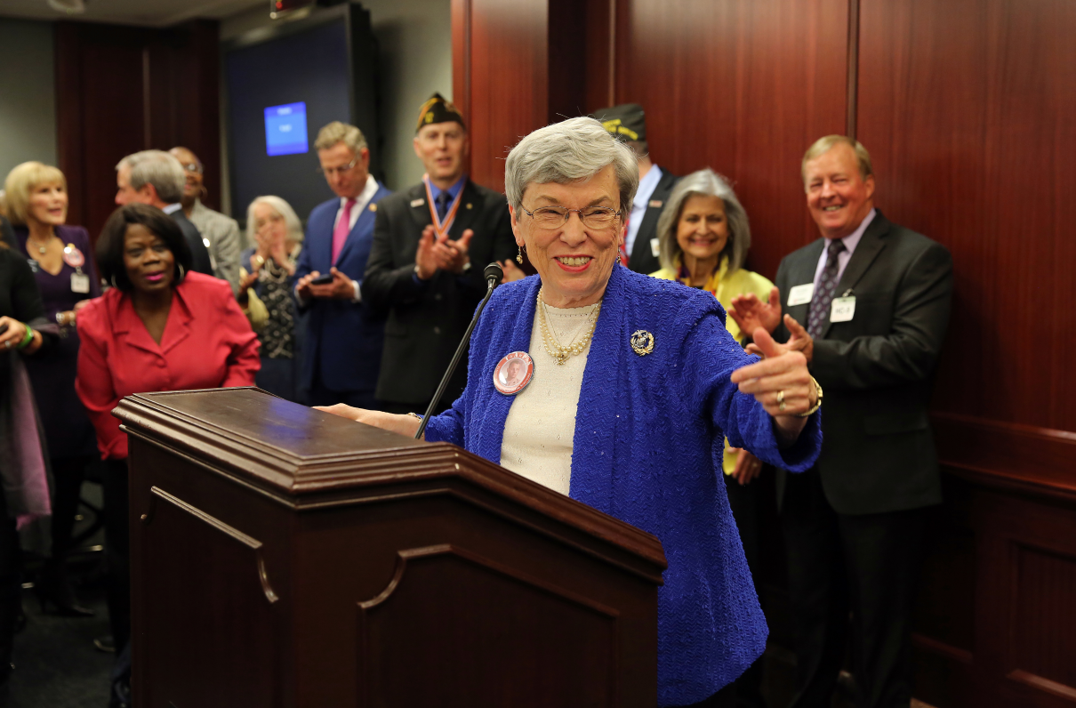 Hundreds Gather in Nation's Capital to Celebrate Widows Tax Repeal