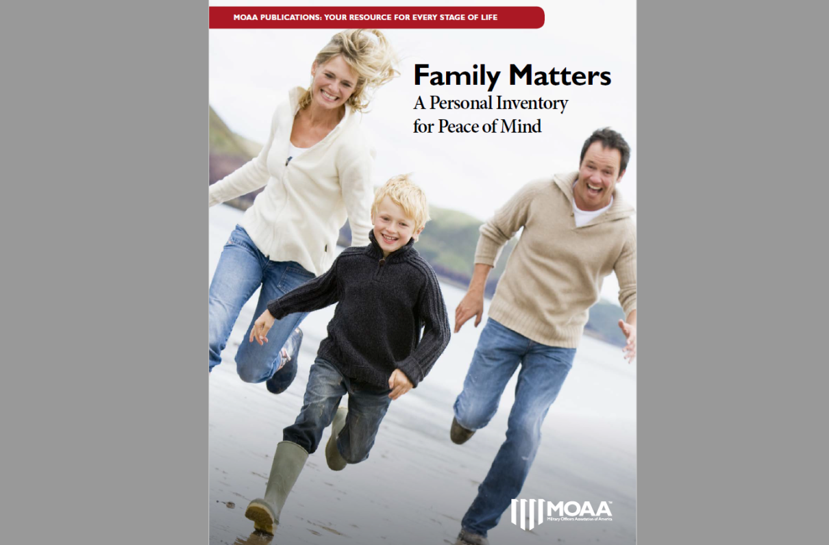 Family Matters: A Personal Inventory for Peace of Mind