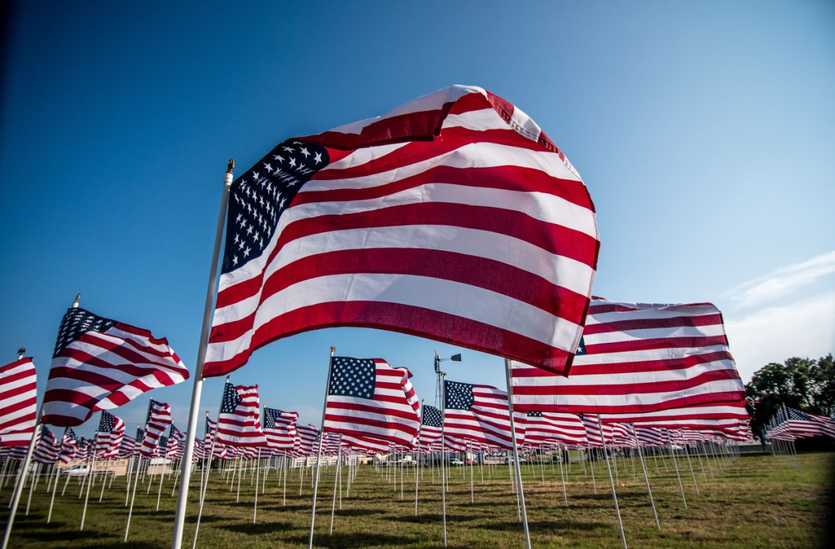 MOAA - Field of Flags: MOAA Chapter Honors Veterans and