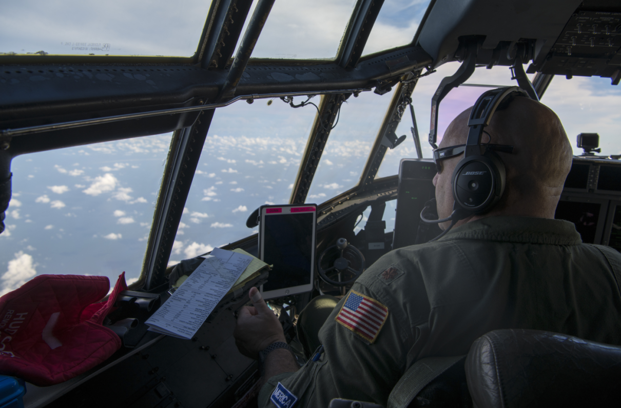 Watch: Hurricane Hunters Fly Into Action