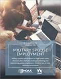 Download MOAA's Military Spouse Employment Guide image