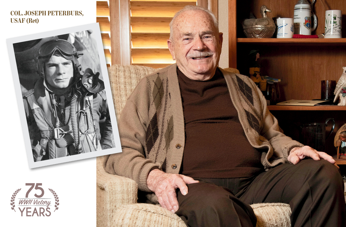 From Teenage Pilot to POW: Col. Joseph Peterburs, USAF (Ret), on His World War II Service