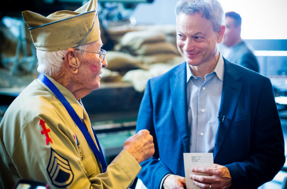 MOAA Interview: 7 Questions About Gary Sinise's Journey
