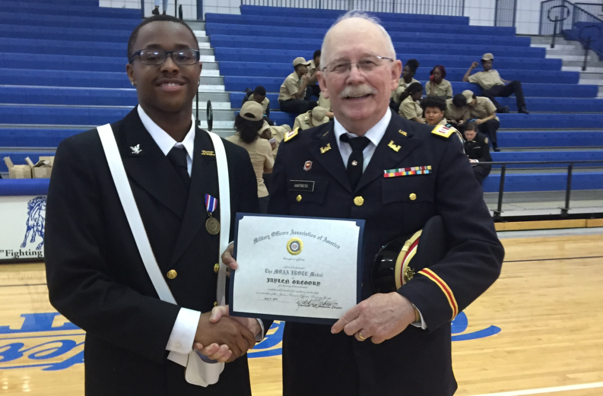 MOAA Chapters Recognize Local Cadets