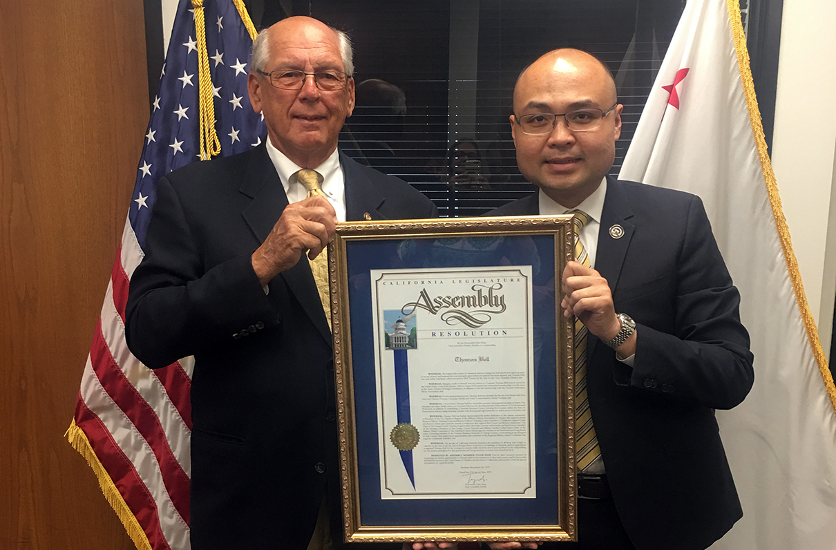 Chapter President Named California District's Veteran of the Year