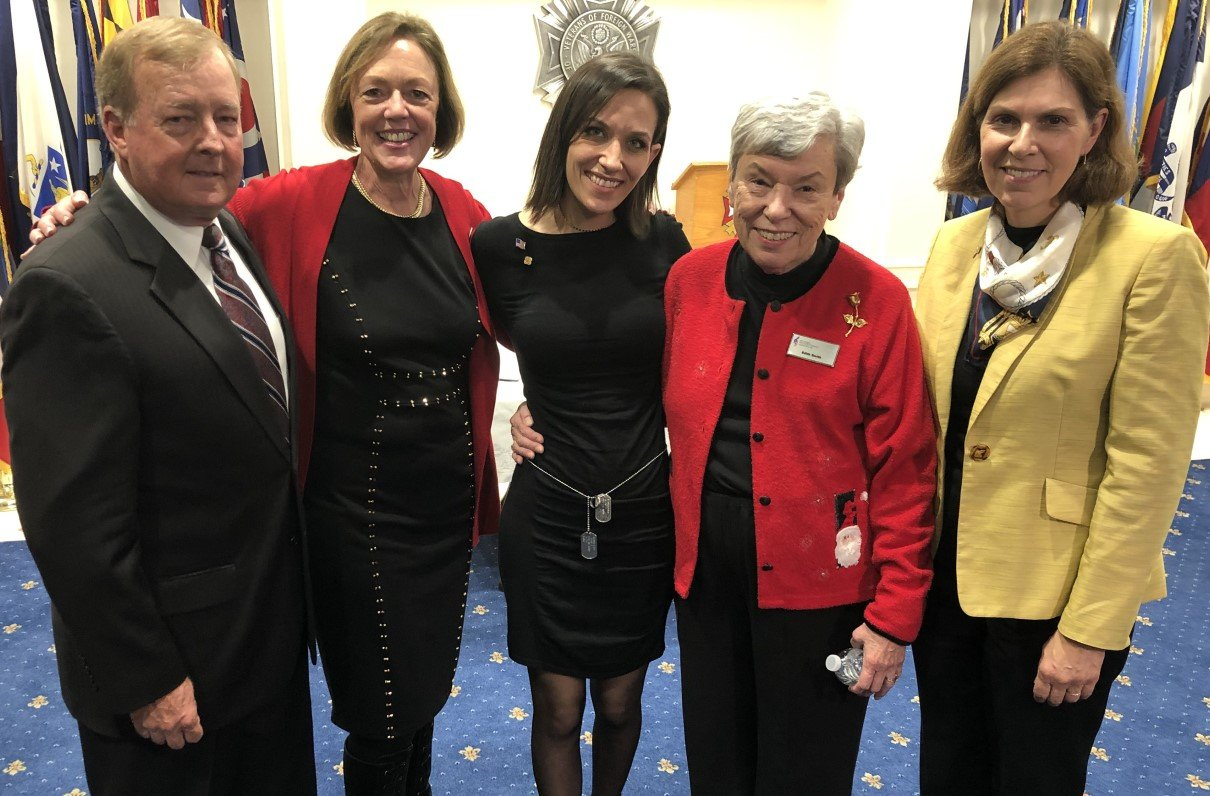 'We Did It': Military Widows, Supporters Celebrate After Senate NDAA Vote